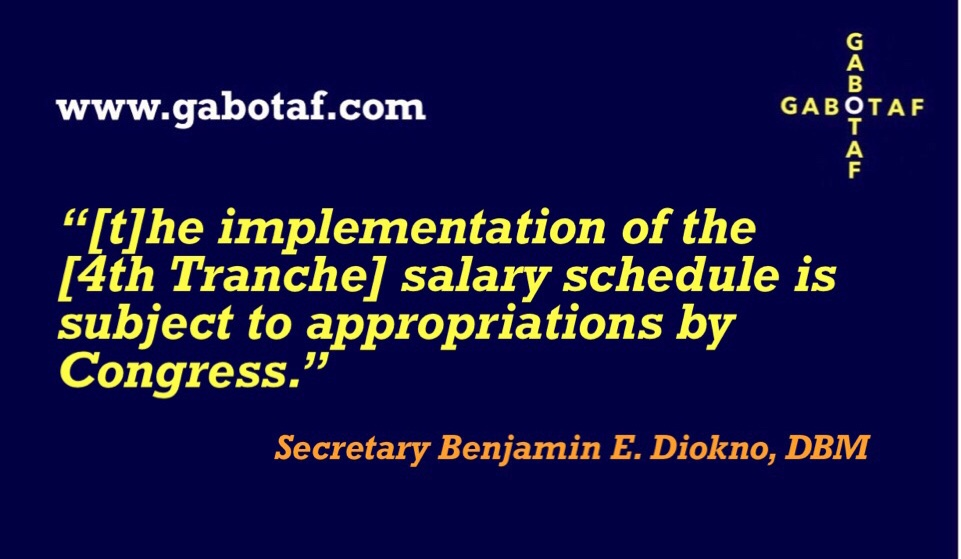 Government workers to receive another salary increase next