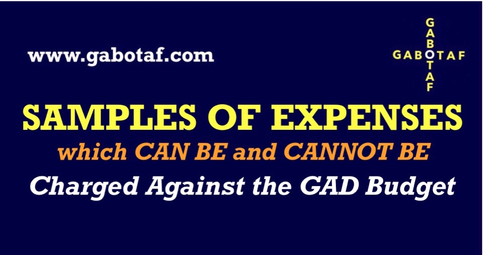 Guidelines on the Preparation of Gender and Development (GAD